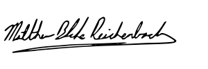 Blake Reichenbach Signature